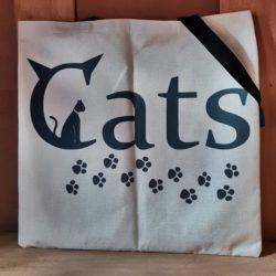 Stoff-Tasche CATS
