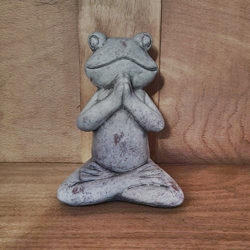 Frosch aus Zement